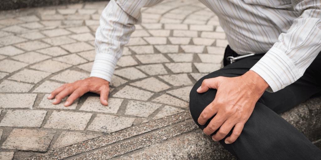 sidewalk slip and fall